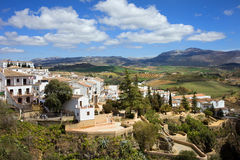 City of Ronda in Spain Royalty Free Stock Photo