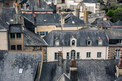 Old city roofs Stock Photography