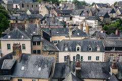 Old city roofs Royalty Free Stock Images