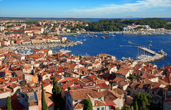 Old city of Rovinj Royalty Free Stock Images
