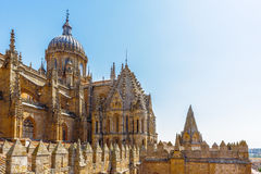 Old City of Salamanca. UNESCO World heritage Royalty Free Stock Photography