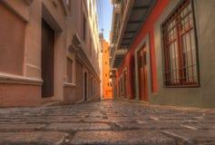 Old City of San Juan Stock Image