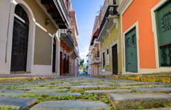 Old City of San Juan Royalty Free Stock Photos
