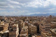 Sanaa, capital of Yemen Stock Photo