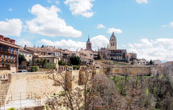 The old city of Segovia, Spain Royalty Free Stock Images