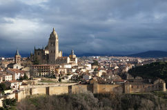 Old city of Segovia, Spain Royalty Free Stock Photo