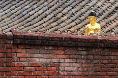 Old City of Seoul - Golden Buddha royalty free stock photography