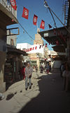 Old city, Sfax, Tunisia. Old city scene in Sfax, Tunisia royalty free stock photography