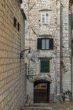 The old city Sibenik, Croatif Stock Photography
