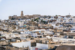 The old city of Sousse. City slums. Tunisia. Summer 2015. Stock Photos