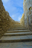 Stone steps stairs Royalty Free Stock Photo