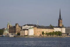 Old city of Stockholm. View on Gamla Stan, the historic city of Stockholm Stock Photography