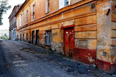 Old city Royalty Free Stock Image