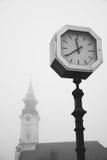 Old city street clock Stock Image