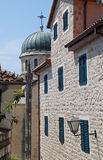 Old city street in Herceg Novi, Montenegro Royalty Free Stock Photo