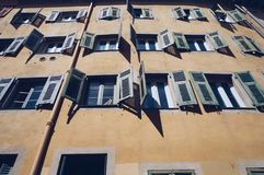 The old city street view, Nice, France royalty free stock photos