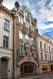 Old city streets. Tallinn. Estonia. Royalty Free Stock Images