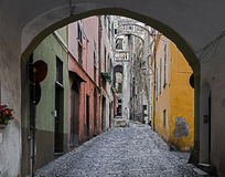 Old city of Taggia 2 Stock Photos
