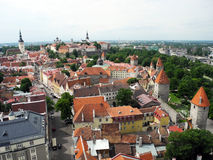 Old city Tallinn. Royalty Free Stock Photography