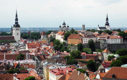 Old city Tallinn in Estonia. Royalty Free Stock Photo