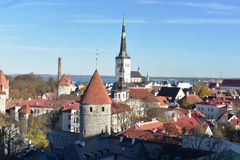 Old city Tallinn in Estonia. Stock Photography