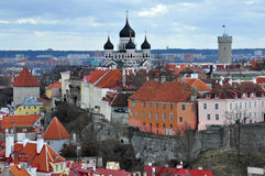 Old city in Tallinn, Estonia Stock Photo
