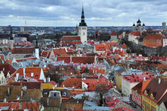 Old city in Tallinn, Estonia Stock Photos