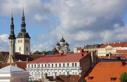 Old city, Tallinn, Estonia Royalty Free Stock Image