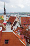 Old city, Tallinn, Estonia Stock Photography