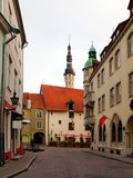 Old city, Tallinn, Estonia. Royalty Free Stock Photos