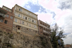 Old city of Tbilisi Stock Image