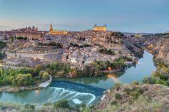 The old city of Toledo in Spain Royalty Free Stock Photography