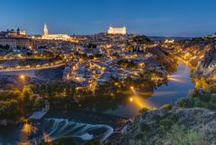 The old city of Toledo in Spain Royalty Free Stock Photo