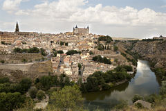Old City of Toledo Royalty Free Stock Photos