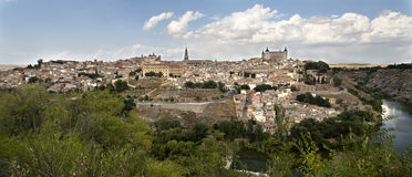 Old City of Toledo Royalty Free Stock Photo