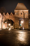 Old City Torun, Polnad. Night view at old city Torun, Poland Royalty Free Stock Photography