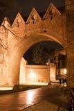 Old City Torun, Polnad. Night view at old city Torun, Poland Royalty Free Stock Image