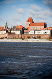 Old City Torun, Polnad Stock Photography