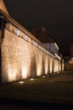 Old City Torun, Polnad. Night view at old city Torun, Poland Stock Photos