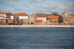 Old City Torun, Polnad Stock Image