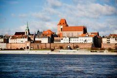 Old City Torun, Polnad Royalty Free Stock Photo