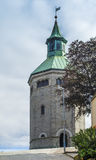 Old city tower in Stavanger, Norway Royalty Free Stock Photo
