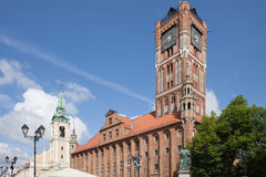 Old City Town Hall in Torun Stock Image