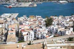Old city town of Ibiza Royalty Free Stock Photo