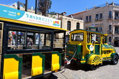 The Old City Train in Jerusalem Israel Stock Photo
