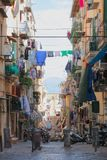 Old city view in italy stock photos