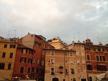 Historical district of Rome Royalty Free Stock Images