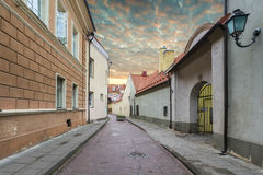Old city of Vilnius, Lithuania Royalty Free Stock Image
