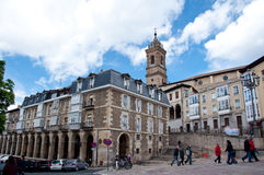 Old city of Vitoria-Gasteiz Royalty Free Stock Images