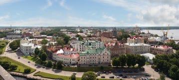 Old City. Vyborg, Russia. Royalty Free Stock Photos